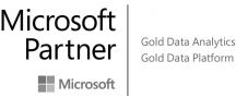 Microsoft Partner Gold Data Analytics und Platform - Logo